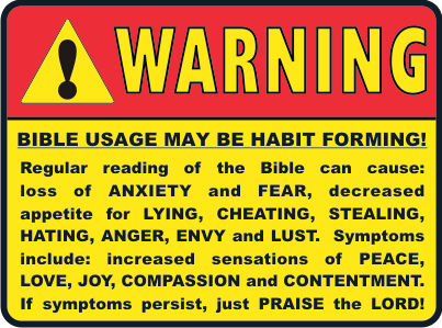 Bible Warning